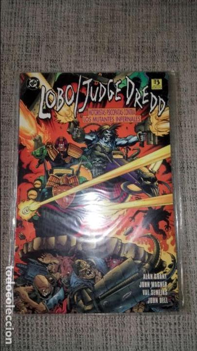 LOBO JUEZ DREDD MOTORISTAS PSICOPATAS CONTRA LOS MUTANTES INFERNALES (Comics und Tebeos - Zinco - Lobo)
