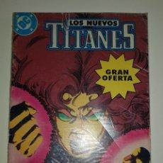 Cómics: DC COMICS - LOS NUEVOS TITANTES VOLUMEN 2 RETAPADO Nº 7 AL 10 (EDICIONES ZINCO AÑOS 80). Lote 127556355