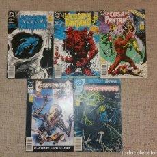 Cómics: DC COMICS - LOTE DE LA COSA DEL PANTANO DE ALAN MOORE SERIE 4 (EDICIONES ZINCO AÑOS 80). Lote 127556531