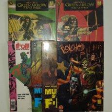 Cómics: DC COMICS - LOTE GREEN ARROW MUNDO SIN FIN THE PSYCHO DOOM PATROL (EDICIONES ZINCO AÑOS 80). Lote 127556675