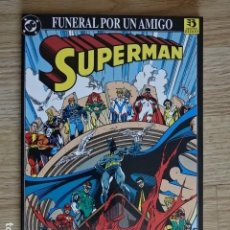 Cómics: SUPERMAN FUNERAL POR UN AMIGO DC COMICS EDICIONES ZINCO AÑO 1993 TAPA DURA. Lote 127557451