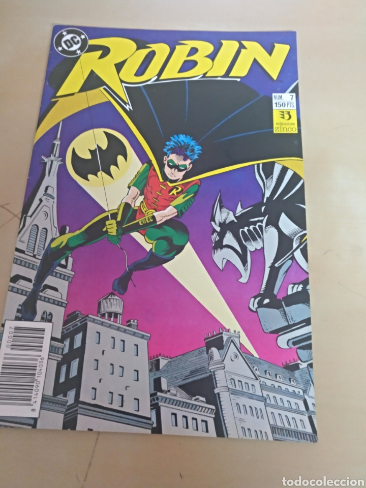 ROBIN LOTE DE 5 Nº 2-3-4-5-7 (Tebeos y Comics - Zinco - Batman)