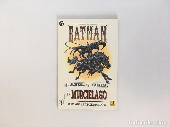 BATMAN: EL AZUL EL GRIS Y EL MURCIELAGO DE MAGGIN, WEISS Y JOSÉ LUIS GARCÍA-LÓPEZ. EDICIONES ZINCO (Tebeos y Comics - Zinco - Batman)