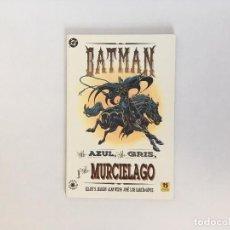 Comics: BATMAN: EL AZUL EL GRIS Y EL MURCIELAGO DE MAGGIN, WEISS Y JOSÉ LUIS GARCÍA-LÓPEZ. EDICIONES ZINCO. Lote 127957847