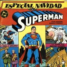 Cómics: SUPERMAN ESPECIAL NAVIDAD (ZINCO, 1986) DE ALAN MOORE, CURT SWAN, G. PÉREZ Y EL NUM. 1 DE SUPERMAN. Lote 128002739