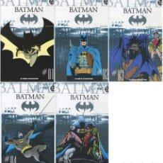 Cómics: COLECCIONABLE BATMAN NUMEROS 1 A 5 (BATMAN AÑO I, AÑO 2 Y OTRAS HISTORIAS). Lote 128088139