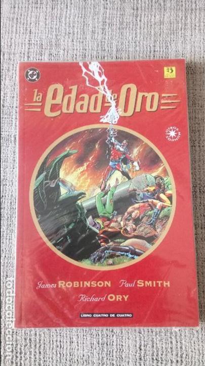LA EDAD DE ORO SERIE COMPLETA 4 TOMOS EDICIONES ZINCO (Tebeos y Comics - Zinco - Prestiges y Tomos)
