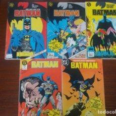 Cómics: BATMAN VOLUMEN VOL. 2 ZINCO Nº 1 AL 27 EN 5 RETAPADOS. Lote 128199387