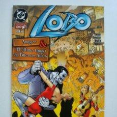 Cómics: LOBO - AMIGOS & EL ÚLTIMO TANGO EN BUENOS AIRES (COLECCIÓN REGULAR NORMA Nº 13) DC. Lote 128241451