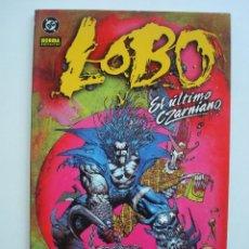 Cómics: LOBO - EL ÚLTIMO CZARNIANO (COLECCIÓN REGULAR NORMA Nº 12) DC. Lote 128241555