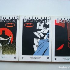 Cómics: BATMAN Nº 1, 2, 3 (BIBLIOTECA EL MUNDO GRANDES HEROES DEL COMIC Nº 5, 6, 7) COMPLETA. Lote 128242371