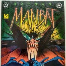 Cómics: BATMAN: MANBAT (DE. JAMIE DELANO &, JOHN BOLTON). Lote 128274907
