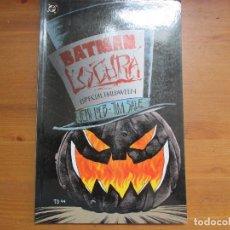 Cómics: BATMAN LOCURA. ESPECIAL HALLOWEEN. JEPH LOEB. EDICIONES ZINCO. Lote 128305627