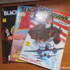 Cómics: BLACKHAWK. SANGRE Y HIERRO. 3 DE 3 (COMPLETA). HOWARD CHAYKIN. EDICIONES ZINCO. Lote 128337271