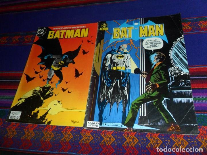 BATMAN VOL. 1 Nº 10. ZINCO 1985. 95 PTS. BATMAN VOL. 2 Nº 27. ZINCO 1988. 125 PTS. BUEN ESTADO. (Tebeos y Comics - Zinco - Batman)