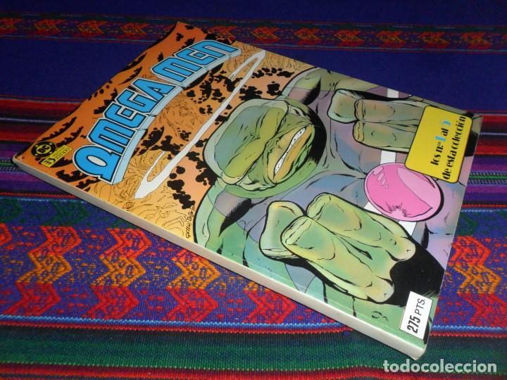 MUY BUEN ESTADO, RETAPADO OMEGA MEN CON NºS 1 2 3 4 5. ZINCO 1986. 275 PTS. (Comics und Tebeos - Zinco - Neu eingebunden)
