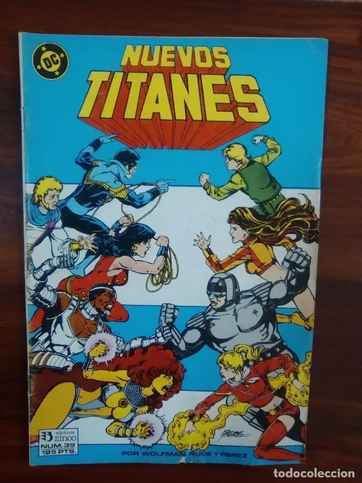 NUEVOS TITANES - NUMERO 39 - EDICIONES ZINCO - DC COMICS (Tebeos y Comics - Zinco - Nuevos Titanes)