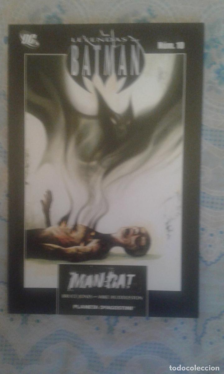 LEYENDAS DE BATMAN: MANBAT: BRUCE JONES: PLANETA (Tebeos y Comics - Zinco - Batman)