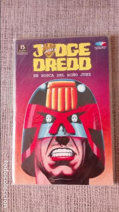 JUEZ DREDD EN BUSCA DEL NIÑO JUEZ EDICIONES ZINCO (Tebeos y Comics - Zinco - Prestiges y Tomos)