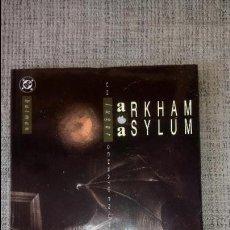 Cómics: BATMAN: ARKHAM ASYLUM EDICIONES ZINCO. Lote 128488019