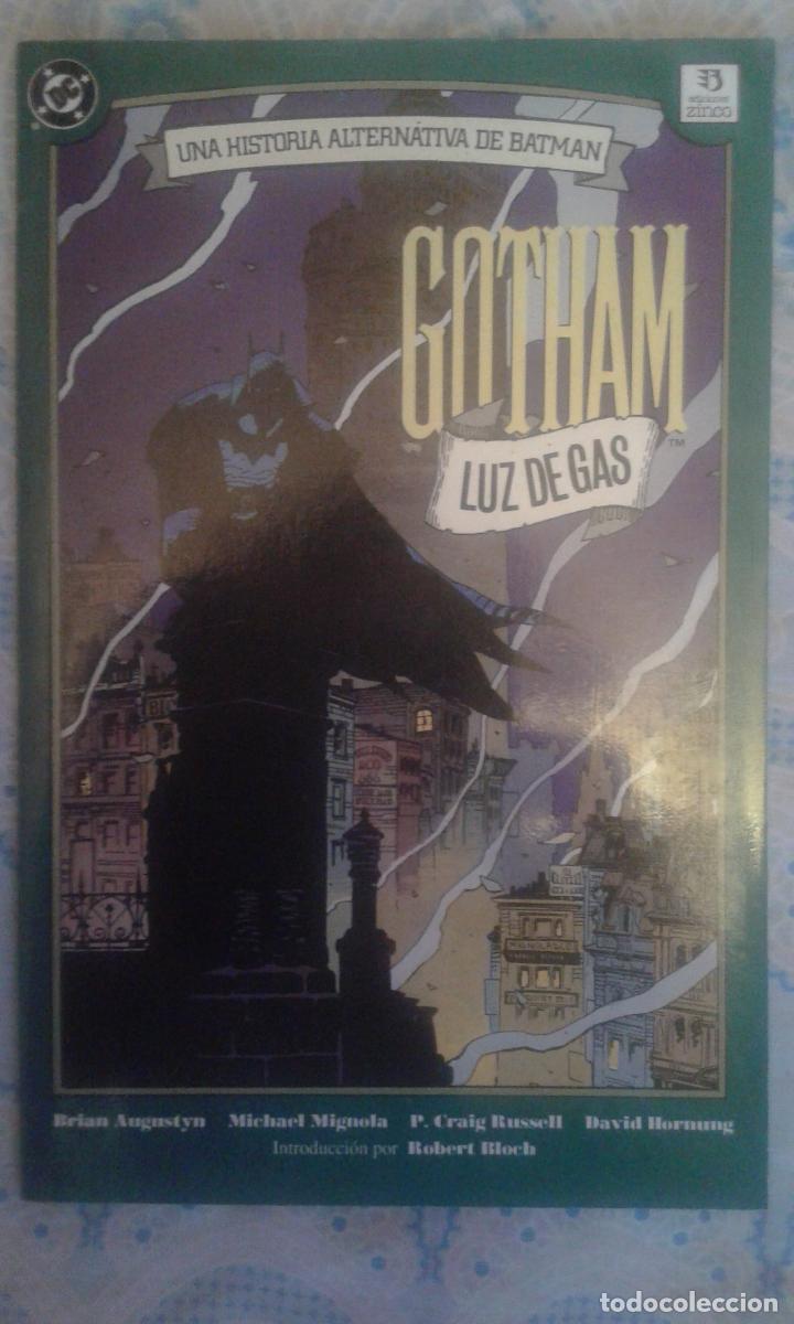 BATMAN: LUZ DE GAS: 1ª EDICION ESPAÑOLA: ZINCO (Comics und Tebeos - Zinco - Batman)