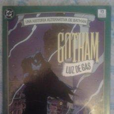 Cómics: BATMAN: LUZ DE GAS: 1ª EDICION ESPAÑOLA: ZINCO. Lote 128489899