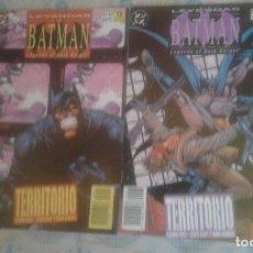 Cómics: LEYENDAS DE BATMAN: TERRITORIO: COMPLETA EN 2 NUMEROS: ZINCO. Lote 128493171