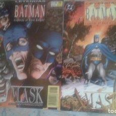 Cómics: LEYENDAS DE BATMAN: MASK: COMPLETA EN 2 NUMEROS: ZINCO. Lote 128493199