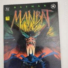 Cómics: BATMAN MANBAT LIBRO UNO . Lote 128591475