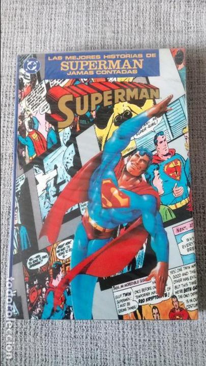 LAS MEJORES HISTORIAS DE SUPERMAN JAMAS CONTADAS EDICIONES ZINCO (Tebeos y Comics - Zinco - Prestiges y Tomos)