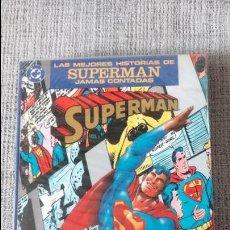 Cómics: LAS MEJORES HISTORIAS DE SUPERMAN JAMAS CONTADAS EDICIONES ZINCO. Lote 128725247