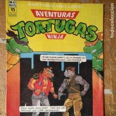 Cómics: LAS AVENTURAS DE LA TORTUGAS NINJA - ZINCO EDICIONES - IMPRESO ESPAÑA AÑOS 90 - NUMERO N 42. Lote 128853219