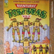 Cómics: LAS AVENTURAS DE LA TORTUGAS NINJA - ZINCO EDICIONES - IMPRESO ESPAÑA AÑOS 90 - NUMERO N 33. Lote 128853463