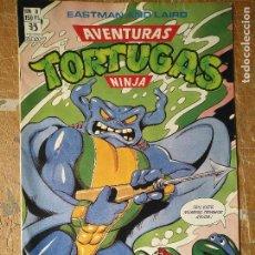 Cómics: LAS AVENTURAS DE LA TORTUGAS NINJA - ZINCO EDICIONES - IMPRESO ESPAÑA AÑOS 90 - NUMERO N 8. Lote 128855835