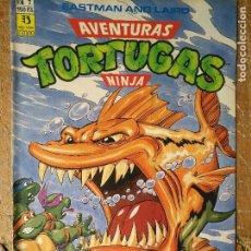 Cómics: LAS AVENTURAS DE LA TORTUGAS NINJA - ZINCO EDICIONES - IMPRESO ESPAÑA AÑOS 90 - NUMERO N 7. Lote 128855931