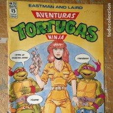 Cómics: LAS AVENTURAS DE LA TORTUGAS NINJA - ZINCO EDICIONES - IMPRESO ESPAÑA AÑOS 90 - NUMERO N 23. Lote 128856035