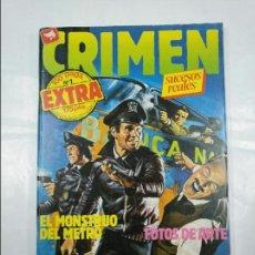Cómics: CRIMEN EXTRA Nº 1. RELATOS GRAFICOS PARA ADULTOS. EDICIONES ZINCO. TDKC23. Lote 128926847