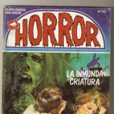 Cómics: HORROR Nº 108 - RELATOS PARA ADULTOS - COMIC EROTICO - EDICIONES ZINCO - 1981 - 66 PP -. Lote 128935303