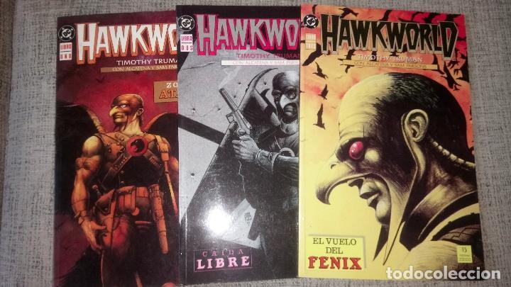 HAWKWORLD COMPLETA 3 TOMOS EDICIONES ZINCO (Tebeos y Comics - Zinco - Prestiges y Tomos)