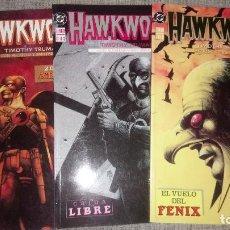 Cómics: HAWKWORLD COMPLETA 3 TOMOS EDICIONES ZINCO. Lote 129107355
