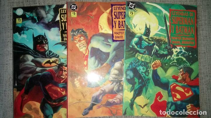 LEYENDAS DE SUPERMAN Y BATMAN 3 TOMOS EDICIONES ZINCO (Tebeos y Comics - Zinco - Prestiges y Tomos)