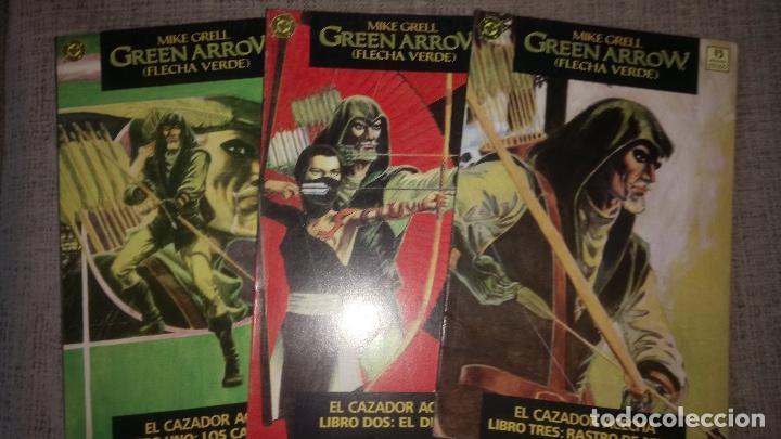 GREEN ARROW EL CAZADOR 3 TOMOS EDICIONES ZINCO (Tebeos y Comics - Zinco - Prestiges y Tomos)