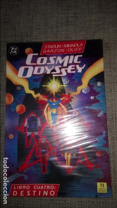 COSMIC ODYSSEY COMPLETA 4 TOMOS EDICIONES ZINCO (Tebeos y Comics - Zinco - Prestiges y Tomos)