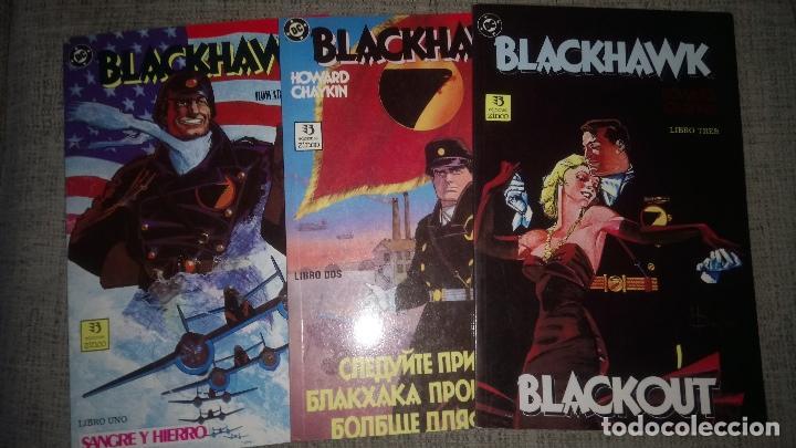 BLACKHAWK COMPLETA 3 TOMOS EDICIONES ZINCO (Tebeos y Comics - Zinco - Prestiges y Tomos)