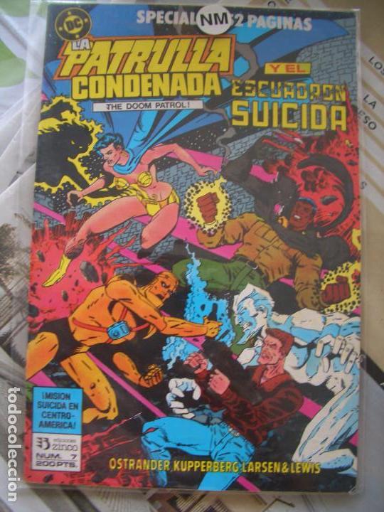PATRULLA CONDENADA #7 (ESPECIAL CON ESCUADRÓN SUICIDA) (ZINCO, 1989) (Tebeos y Comics - Zinco - Patrulla Condenada)