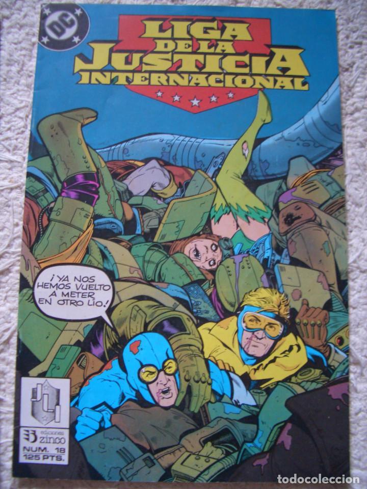 LIGA DE LA JUSTICIA #18 (ZINCO, 1989) (Tebeos y Comics - Zinco - Liga de la Justicia)