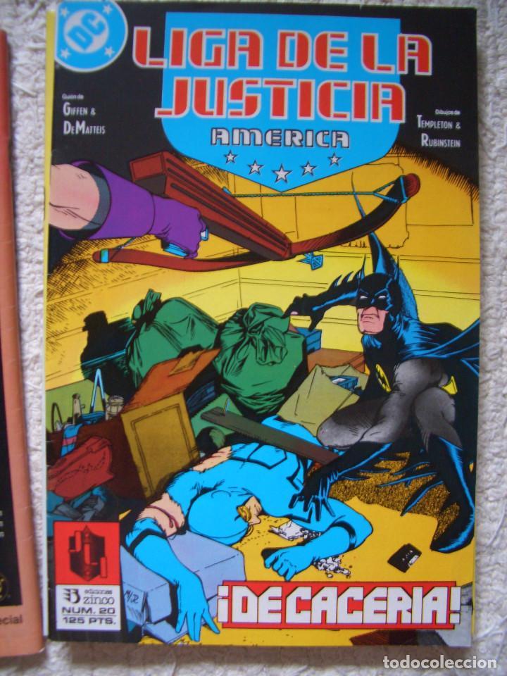 LIGA DE LA JUSTICIA DE AMÉRICA #20 (ZINCO, 1989) (Tebeos y Comics - Zinco - Liga de la Justicia)