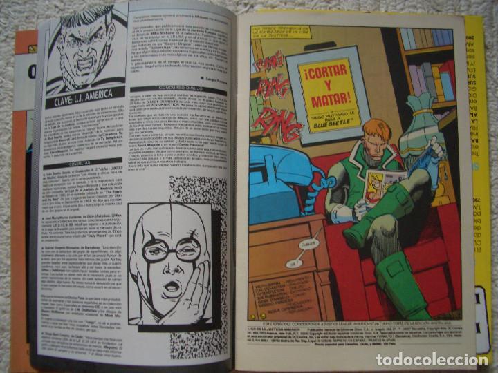 Cómics: LIGA DE LA JUSTICIA DE AMÉRICA #20 (ZINCO, 1989) - Foto 2 - 129425179
