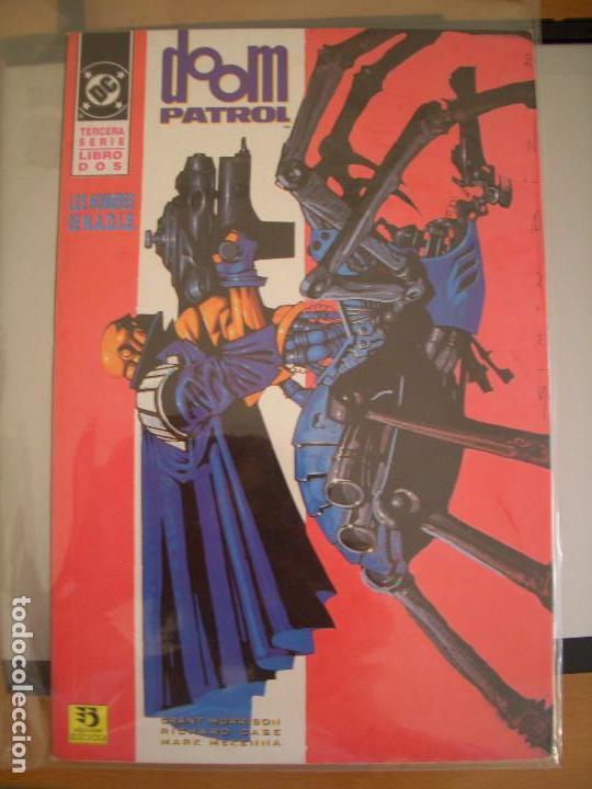 DOOM PATROL: LOS HOMBRES DE NADIE #1-2 (ZINCO, 1995) (Tebeos y Comics - Zinco - Patrulla Condenada)