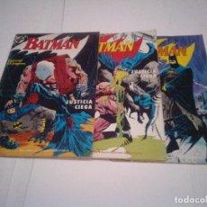 Cómics: BATMAN - JUSTICIA CIEGA - COMPLETA - 3 NUMEROS - BUEN ESTADO - GORBAUD - CJ 96. Lote 129589935